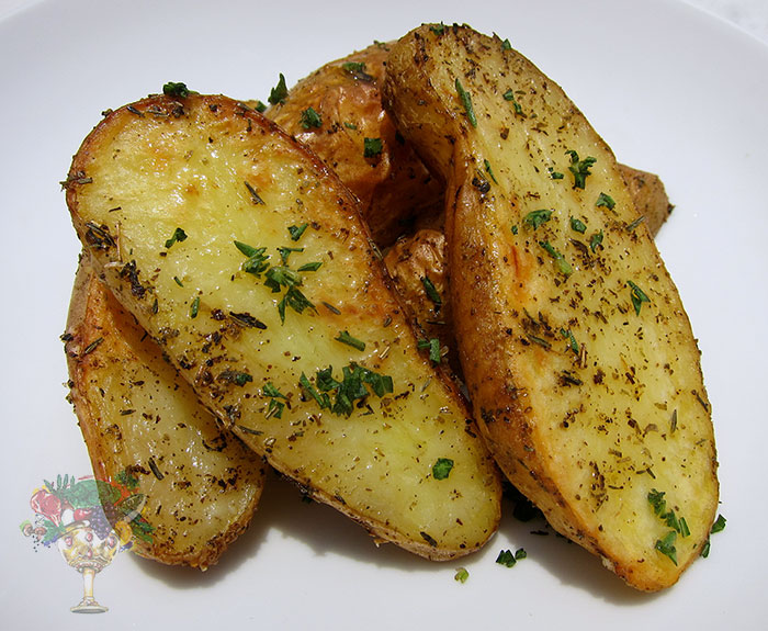 Easy Oven Baked Potato Wedges Homestead Acres