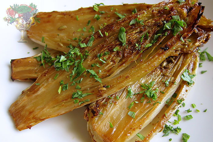 Ginger Roasted Endives w. Fennel Seeds Recipe | Christopher James ...