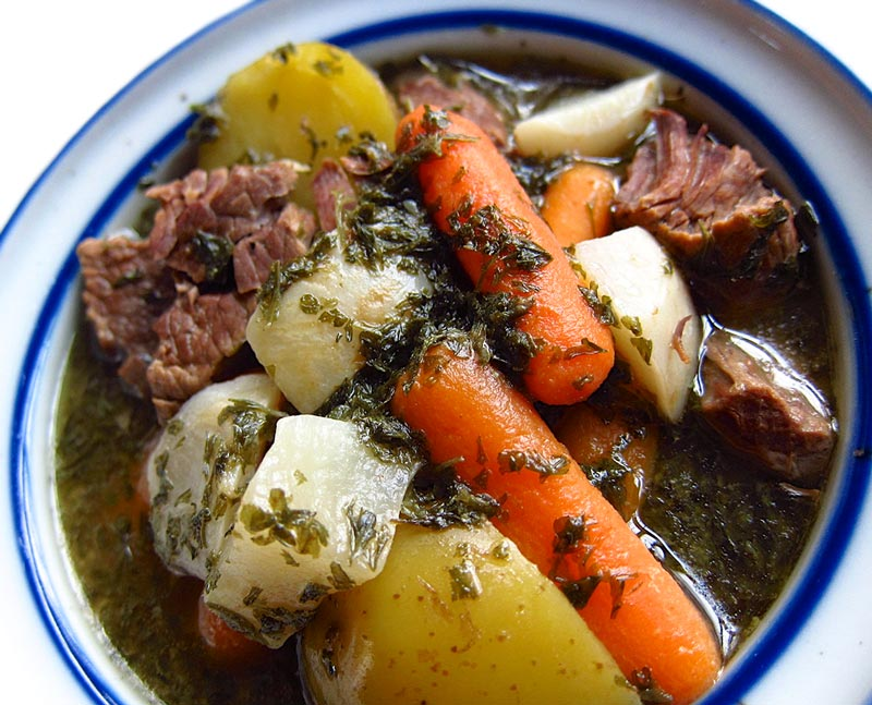 How to make beef stew with soup bone