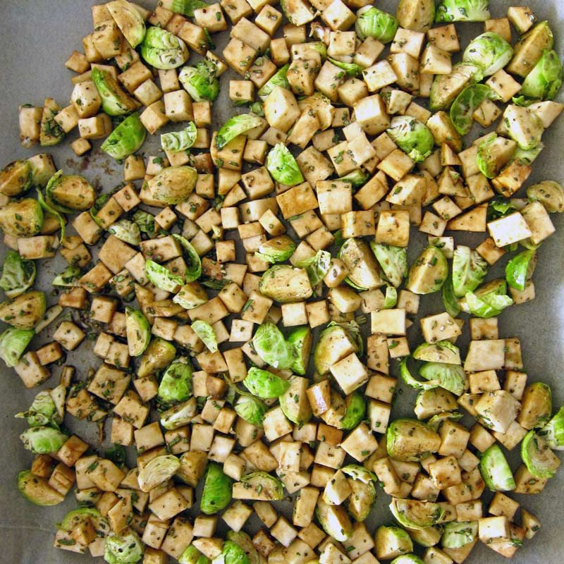 Duck Fat Roasted Brussels Sprouts Recipe — Dishmaps