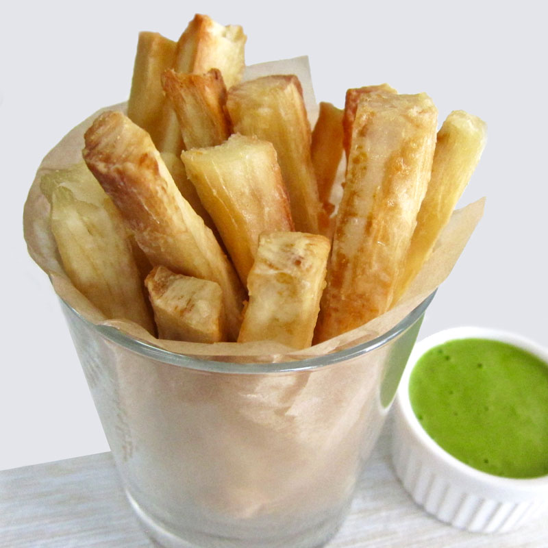 Oven Baked Yuca Fries Recipe