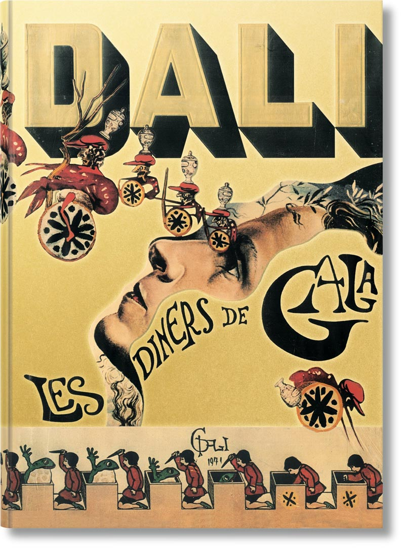 Salvador Dali Cookbook Set for Reissue. Calorie Counters Need Not Inquire.